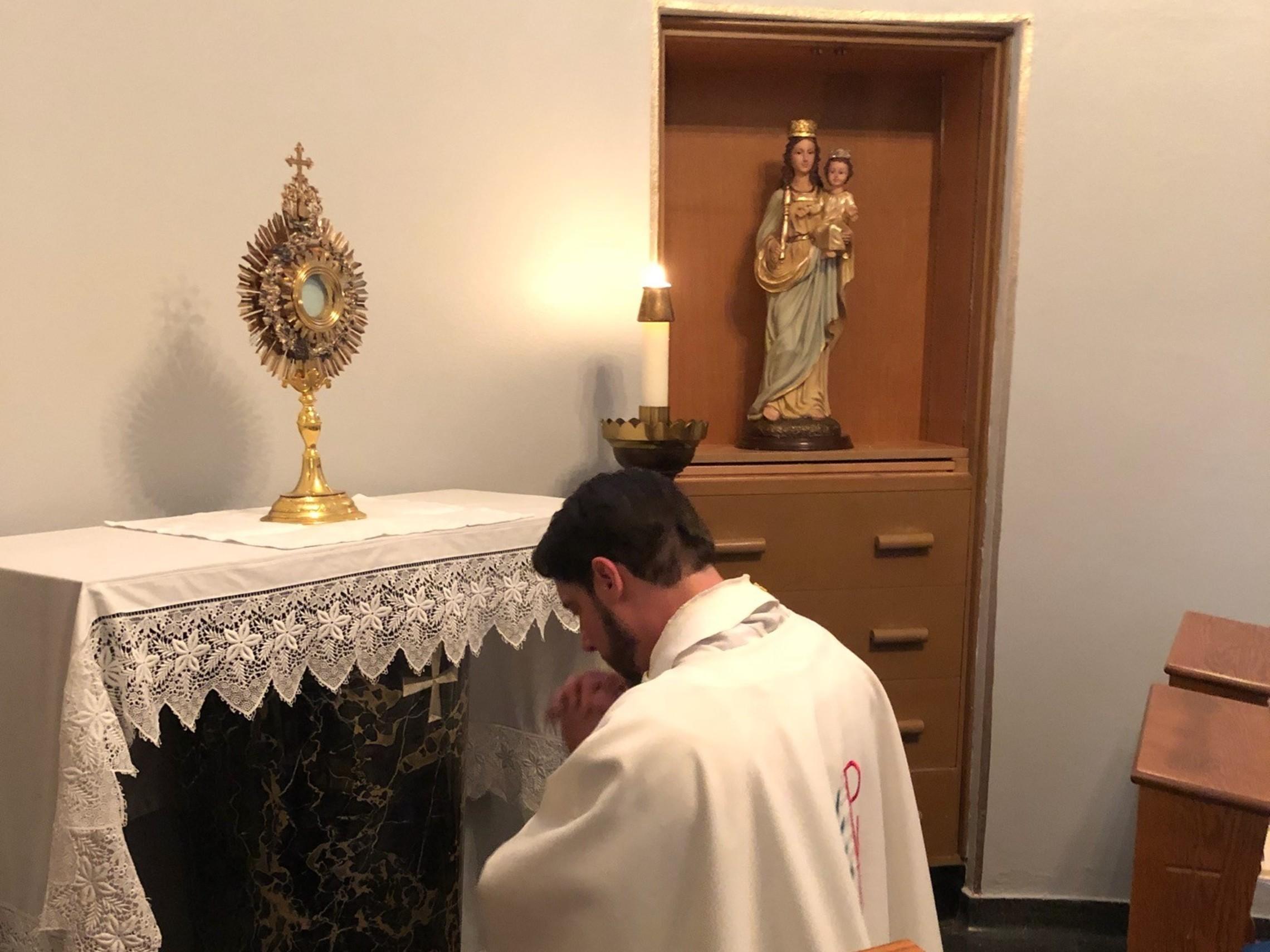 Adoration Fr. Waldman